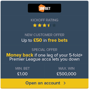 188 Bet sign up now