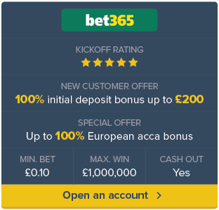 Bet 365 sign up now