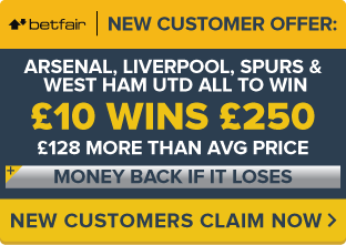BetFair-Offer-SPURS,-ARSENAL,-LIVERPOOL-&-WEST-HAM