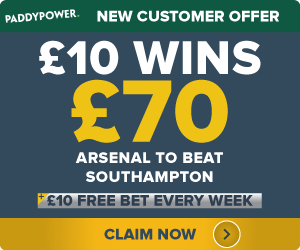 PaddyPower-Offer-ARSENAL