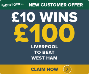 PaddyPower-Offer Liverpool to beat West Ham