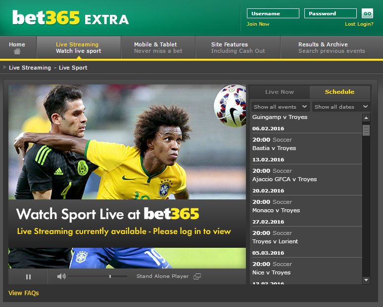 bet365 - Watch Live Sport